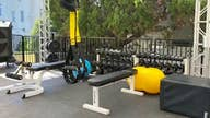 California gym adapts to coronavirus, moves equipment outdoors
