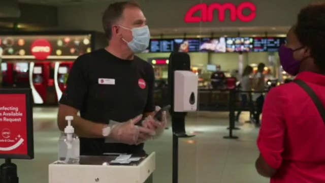 More than 100 AMC theaters reopening Thursday