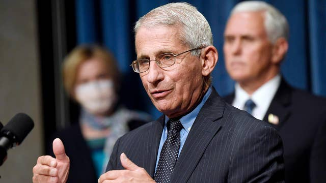Fauci says he's 'not pleased' with current fight against coronavirus