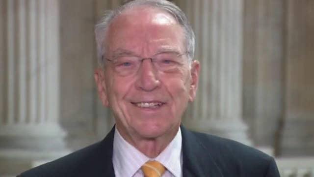 Sen. Chuck Grassley on coronavirus stimulus deal: 'Little chance of getting something done'