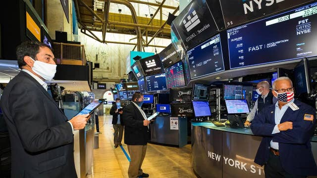 Tech sector ETF leading today's gains
