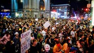 Who is funding protests throughout the US?