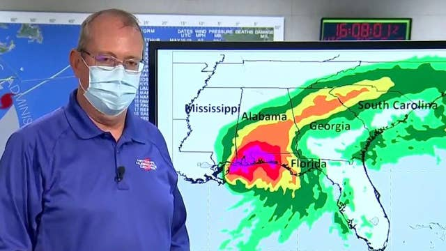 'Big problem' with Hurricane Sally is its slow pace: National Hurricane Center director