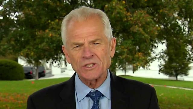 Navarro: Trump wins second term if election is about economy