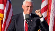Pence deliver remarks at a 'Make America Great Again!' rally in NC