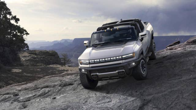 GM unveils first electric Hummer that can go from 0 to 60 mph in 3 seconds
