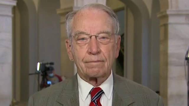 CIA director is covering something up in Russiagate emails that may involve her: Grassley