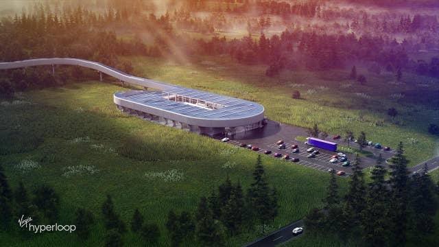 Virgin Hyperloop selects West Virginia for test center, creates 13,000 jobs