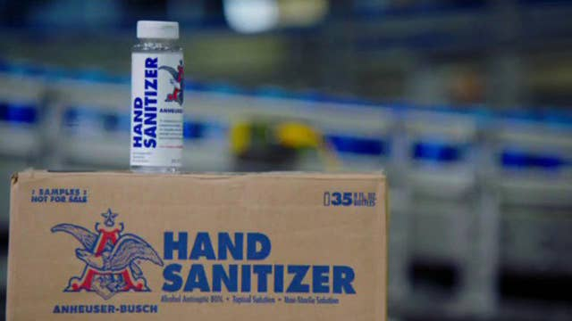 Anheuser-Busch donates 8M ounces of sanitizer to US polling places