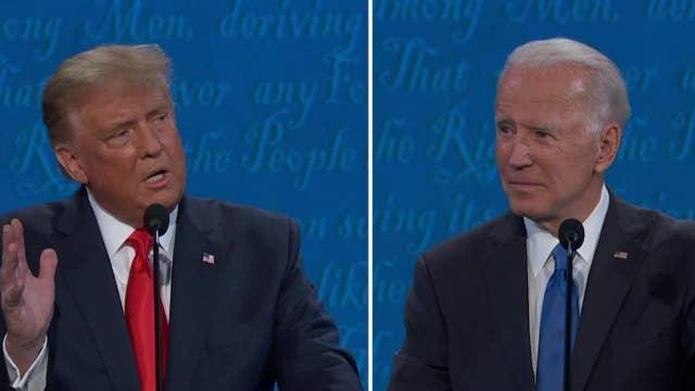 Trump: If Biden's elected the stock market will crash