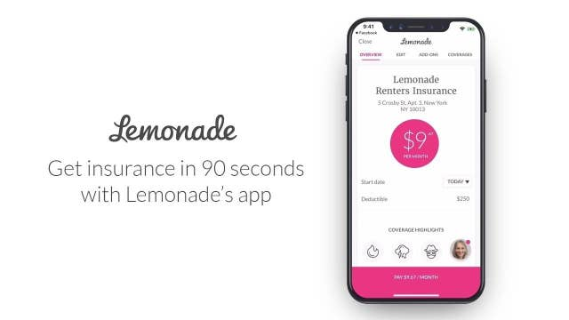 Lemonade CEO: Expanding from rental insurance to pet, life insurance