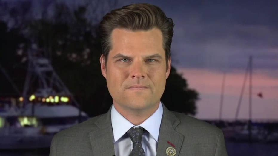 Gaetz warns Republicans will never win 'another national election again' if mail-in balloting persists