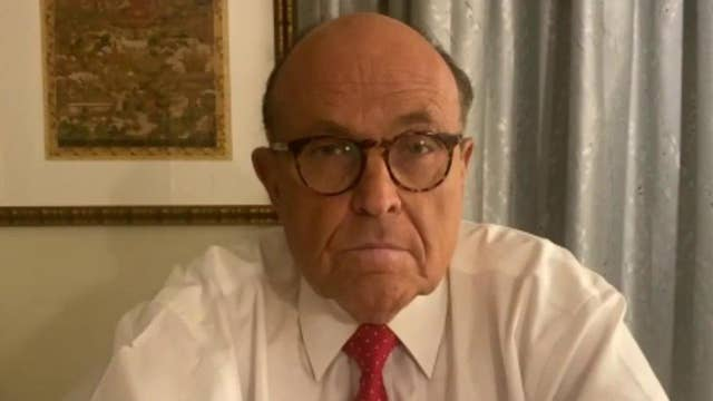 Rudy Giuliani cites potential issues with voting machine maker Dominion