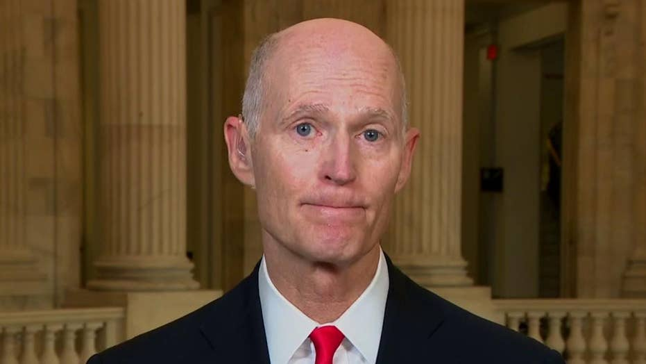 Rick Scott rips Swalwell over suspected China spy, calls for removal from House Intelligence Committee