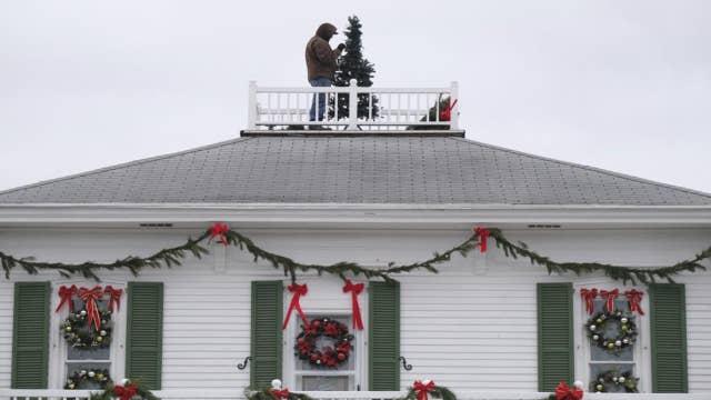 Holiday decoration sales surge amid coronavirus pandemic