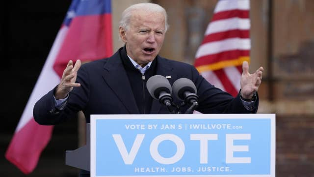 Taxpayers should be concerned about Biden admin working with a potentially Democrat-controlled Senate: James Freeman