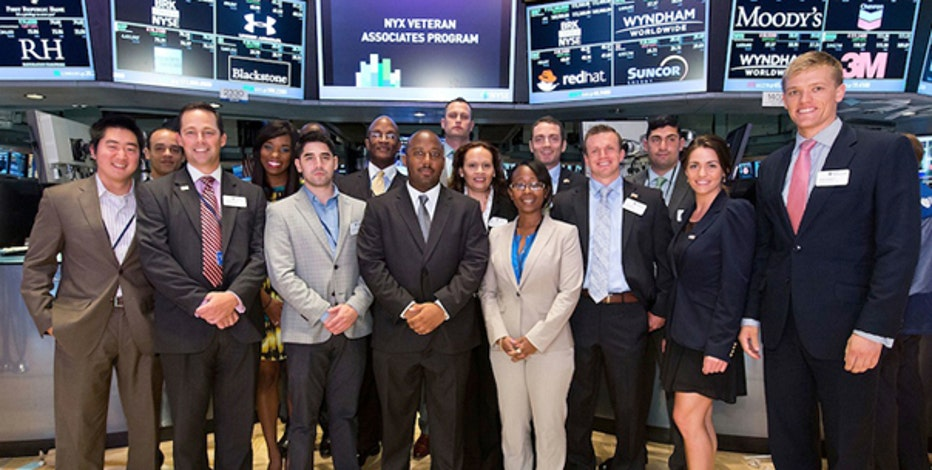 NYSE Euronext's Veteran Associate Program gives veterans skills they need to pursue a career on the Street.