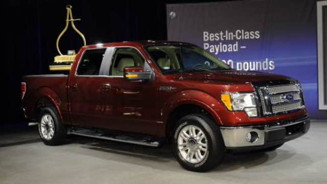 A look at Ford's new F-150 pickup truck