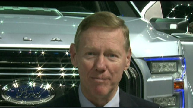 Ford CEO Alan Mulally on the future of the company's trucks.