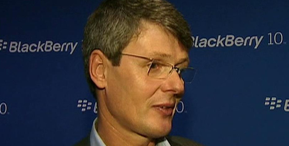 BlackBerry CEO Thorsten Heins on the release of the BlackBerry 10 and Lenovo buyout rumors.