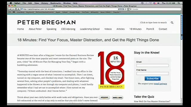 Peter Bregman on why living life as a 'performance' may cause your work to suffer.