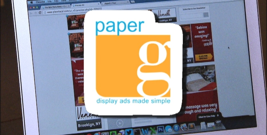 The founders of the startup PaperG are focused on disrupting the digital ad industry