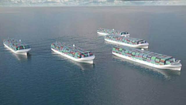 SocialRadar's Shana Glenzer on Rolls-Royce Holdings' plan to build robotic cargo ships.