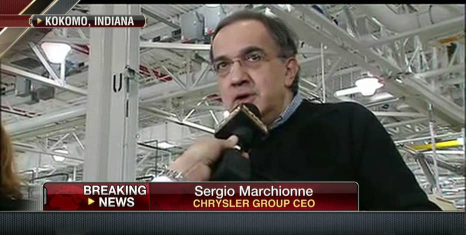 Chrysler CEO Sergio Marchionne says that sequester will not affect Chrysler's plans.