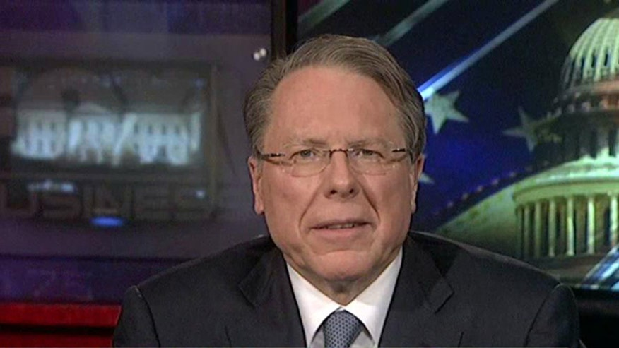 NRA CEO Wayne LaPierre on the push for greater gun control legislation.