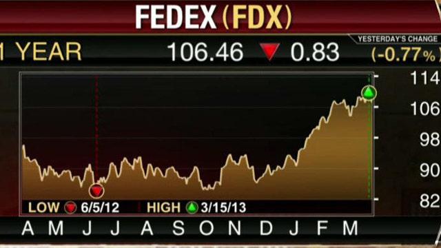 FBN's Diane Macedo breaks down FDX's third-quarter earnings report.