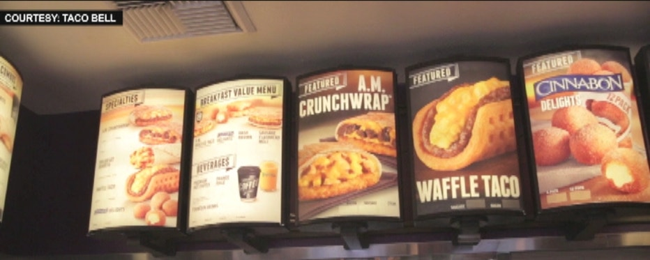 FOXBusiness.com's Kate Rogers with Taco Bell President Brian Niccol on why the brand is shaking up its offerings at breakfast, with Waffle Tacos and more.