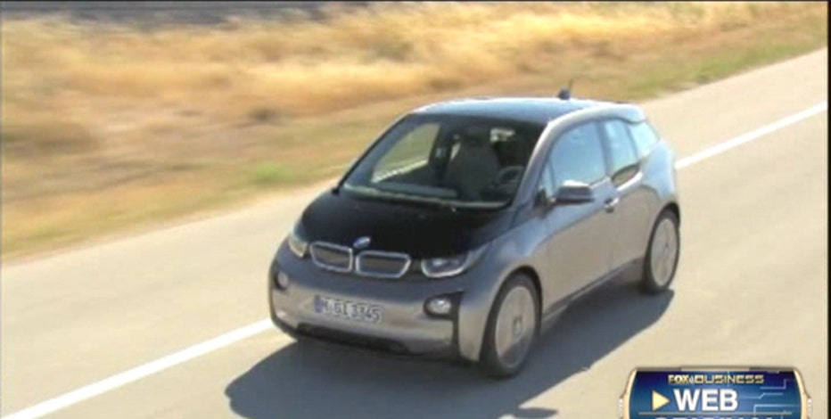 FBN's Seana Smith on BMW's i3 all-electric car.