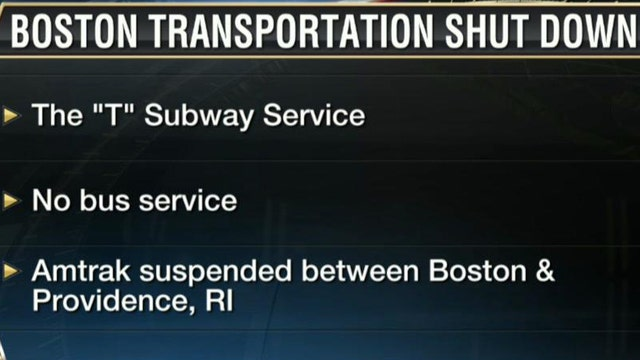 FBN's Peter Barnes on the latest on Boston's transportation shut down.