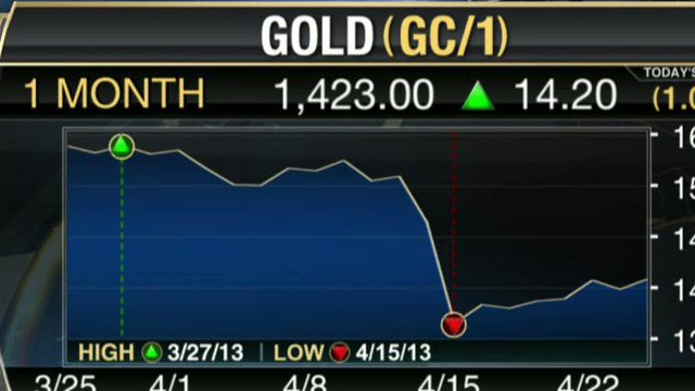 Blue Nile CEO Harvey Kanter says the lower price of gold has allowed Blue Nile to lower the prices for its jewelry.