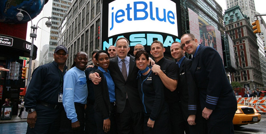JetBlue's CEO Dave Barger tells FOXBusiness.com's Victoria Craig despite not having perfect vision, he still made his dream of an airline industry career come to life.