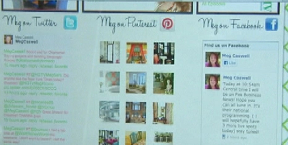 HGTV interior designer Meg Caswell breaks down social media's impact on business.