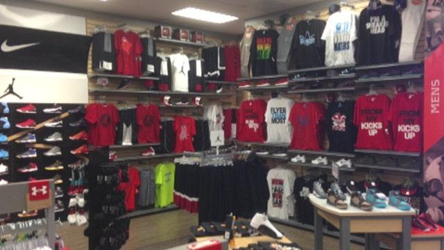 Winning big with sports retail | Fox Business Video