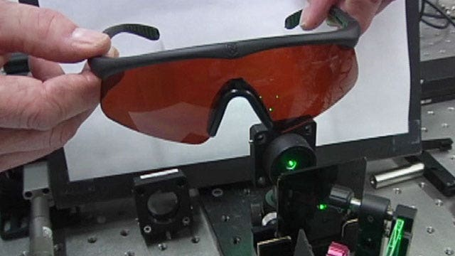 Hillary Vaughn takes a look at the latest eye wear for troops