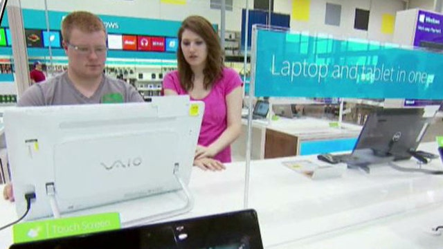 Microsoft Windows CFO Tami Reller on the partnership to have mini-stores within Best Buy.