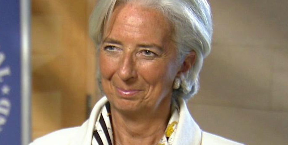 IMF managing director Christine Lagarde weighs in on the IMF's report on the U.S. economy.