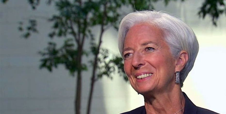 IMF managing director Christine Lagarde breaks down the IMF's forecast for the U.S. economy.