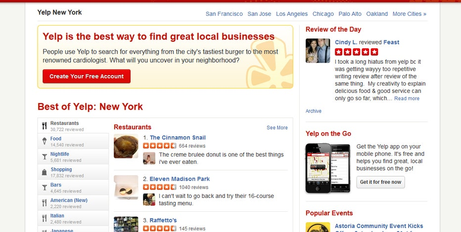 PayPal co-founder Max Levchin says Yelp is a great story and not slowing down.