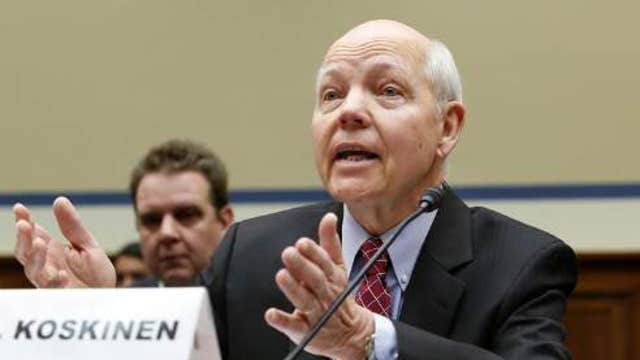 No apologies from IRS Commissioner Koskinen?