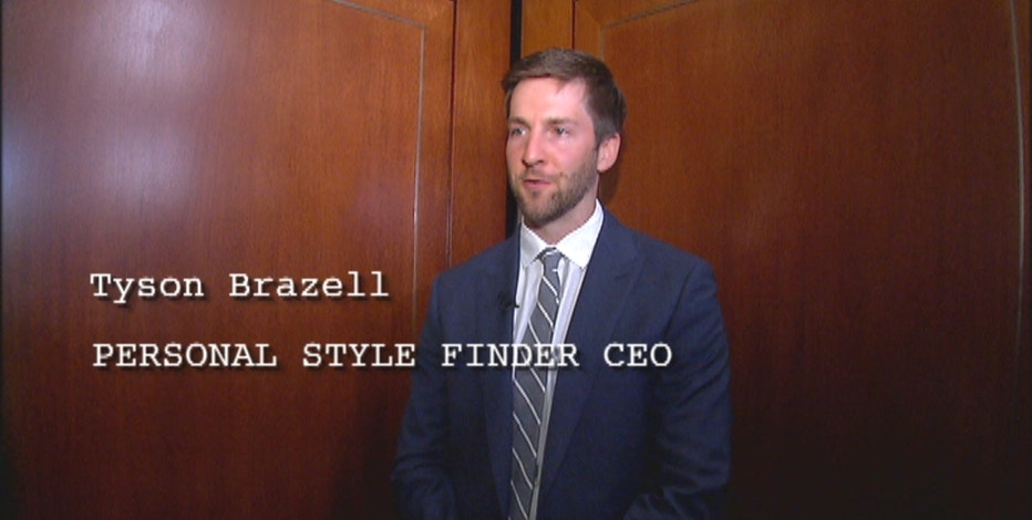 Personal Style Finder founder Tyson Brazell gives FBN's Deirdre Bolton a 30-second elevator pitch.