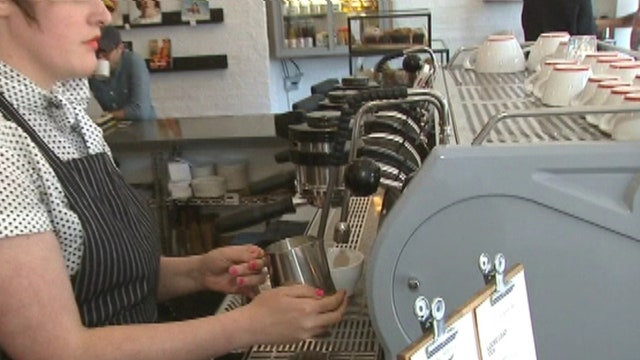 LaSalle Network CEO Tom Gimbel, Intelligentsia Coffee HR director Lisa Hogan, and Intelligentsia Coffee Design director Stephen Morrissey weigh in on Intelligentsia's new business concept and the state of the job market.