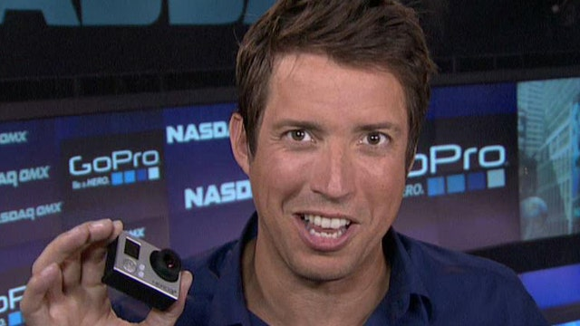 GoPro CEO Nicholas Woodman says GoPro makes it easy for the world to turn a camera on itself.