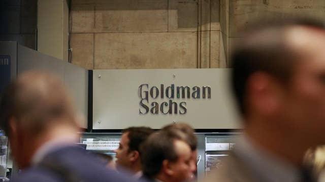 Cheryl Casone reports that Goldman Sachs' 2Q earnings handily beat estimates.