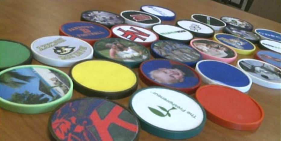FBN's Charles Payne on High school inventor Ryan Rist's 3-D printed water-absorbent coasters.