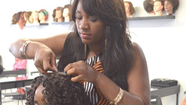 FBN's Charles Payne on Empowering Through Beauty founder Tanisha Akinloye.