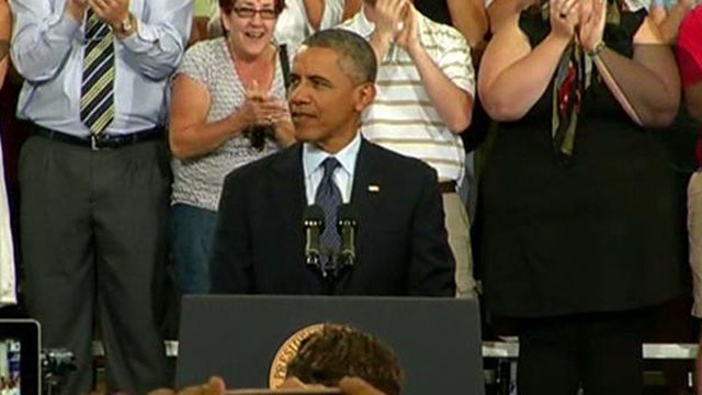 FBN's Rich Edson breaks down highlights of President Obama's speech on the economy.